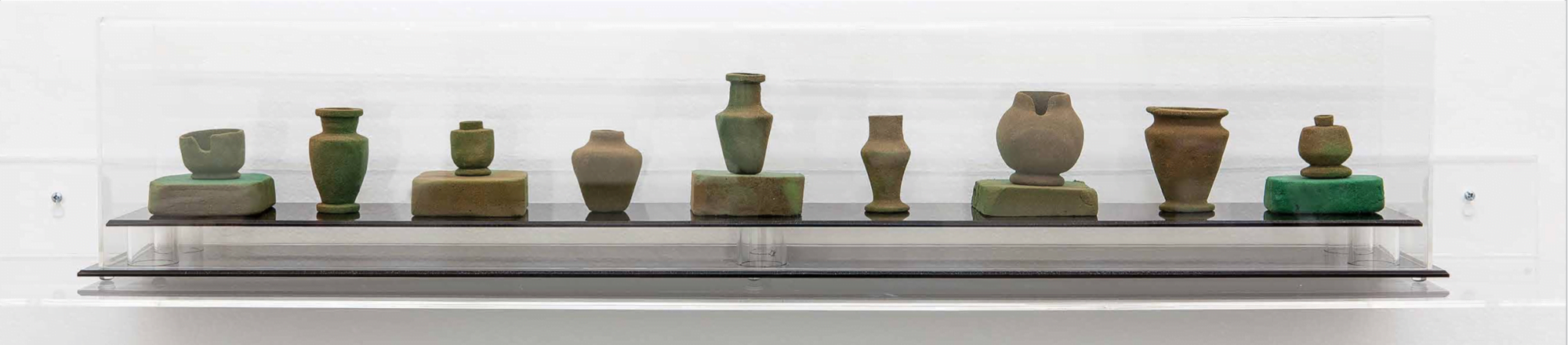 Catherine Bell. Crematorium vessels 2012–13. © the artist, courtesy the artist and Sutton Gallery, Melbourne. Photo: Andrew Curtis.