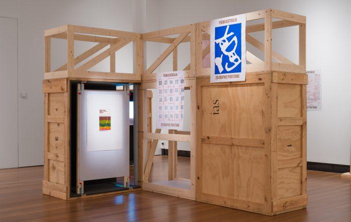 'From Australia: An Accumulation' installation view: Latrobe Regional Gallery, 2021. Photograph by Matthew Stanton